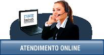 Atendimento on line de segunda a sexta das 08:00 as 23:00
